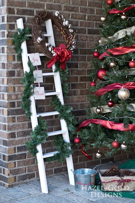 How to Build a DIY Decorative Ladder