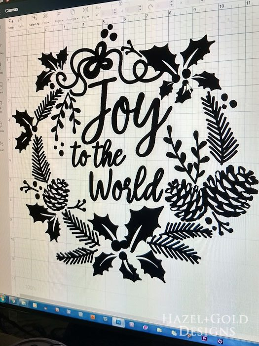 DIY Joy to the World Wooden Sign- choose design