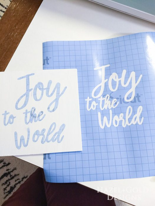 DIY Joy to the World Wooden Sign- i saved the letters for a different sign