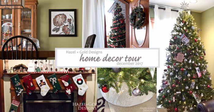 hazel and gold designs home decor tour december 2017 mozaico SOCIAL MEDIA IMAGE
