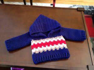 Hazel + Gold Designs - crochet baby boy sweater