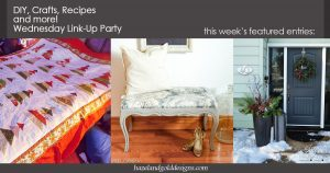 DIY Projects, Crafts, Recipes and More – Wednesday Link Party #68