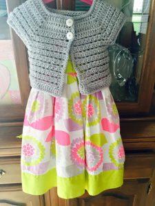 Hazel + Gold Designs - Crochet girls cardigan