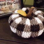 crochet pumpkin Hazel + Gold Designs