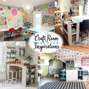 Craft Room Makeover Inspiration – 24 Ideas!