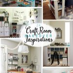 Craft Room Makeover Inspirations - Pinterest Image
