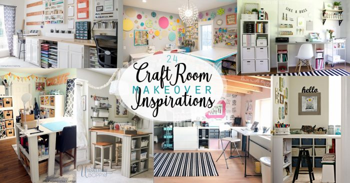 Craft Room Makeover Inspirations - Social Media Image