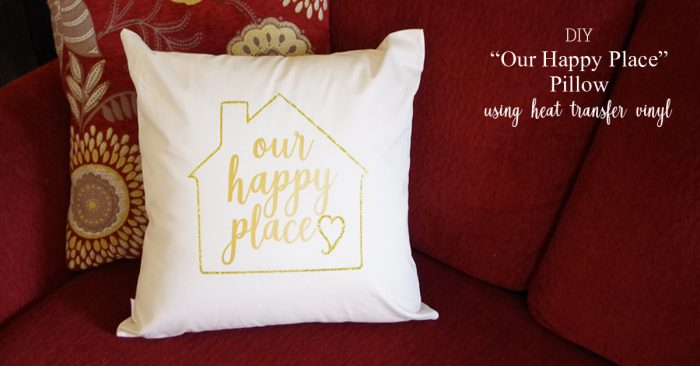 OUR HAPPY PLACE PILLOW SOCIAL MEDIA IMAGE