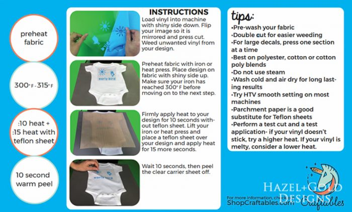 Our Happy Place Pillow- craftables instructions for heat transfer vinyl