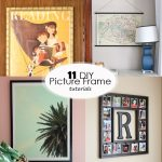 diy picture frame tutorials featured image size