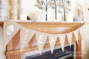 Easter Burlap Banner – Create with Cricut Challenge March 2018