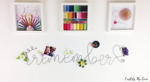 decorative idea to get more organized in your craft room or office