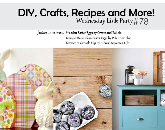 wednesday link party 78 - square featured image