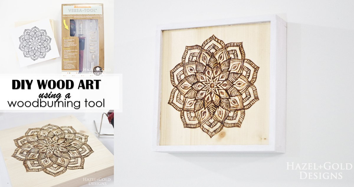 Diy Wood Art Using Woodburning Tool Hazel Gold Designs