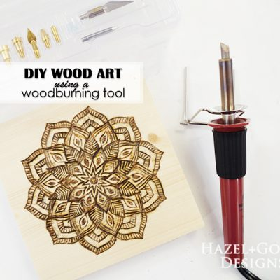 DIY Wood Art using Woodburning Tool