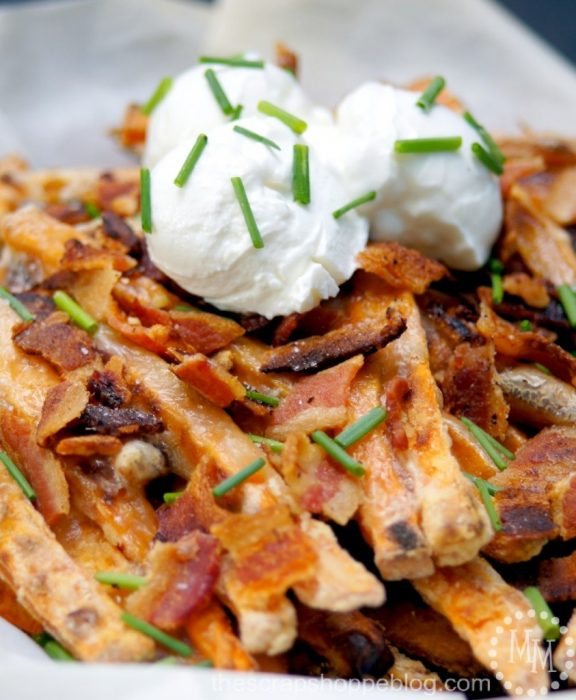 Sweet Potato Brie Fries by The Scrap Shoppe