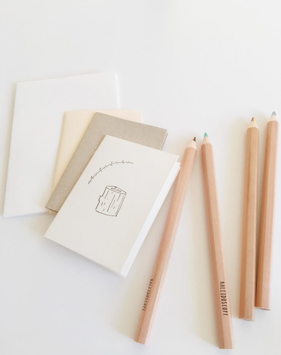 Mini DIY Coloring and Sketch Booklets