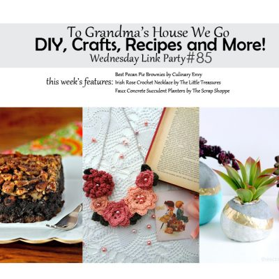 To Grandma's House We Go! DIY, Crafts, Recipes and More Wednesday Link Party #85