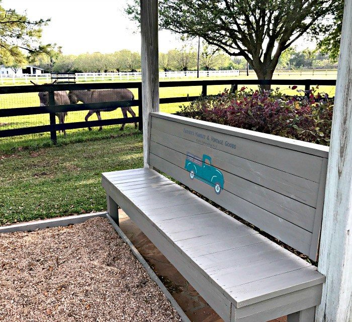DIY Rustic Farmhouse Outdoor Bench by Abbotts at Home