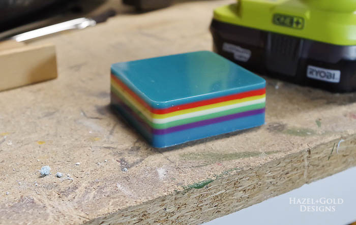 DIY-Colorful-Resin-Pencil-Holder-cured-ready-to-drill