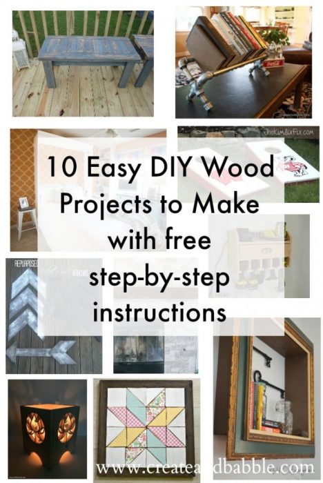 10-Easy-DIY-Wood-Projects-to-Make-with-free-step-by-step-instructions-684x1024