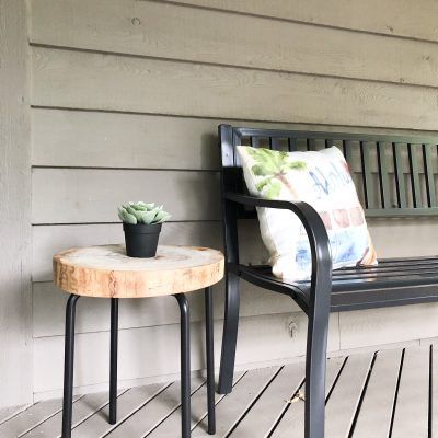 DIY Side Table for less than $15