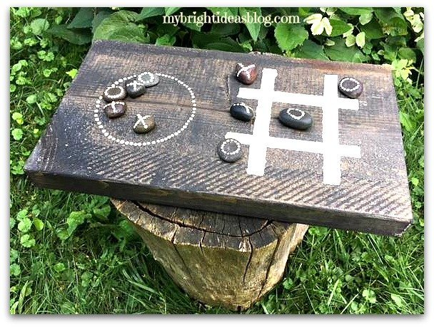 Make-a-Wood-Tic-Tac-Toe by My Bright Ideas Blog
