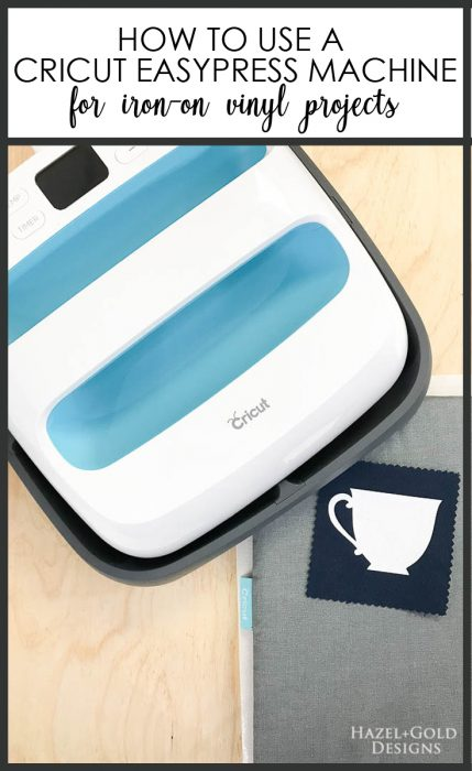 Learn how to use a Cricut EasyPress machine to apply iron-on vinyl quickly, easily and perfectly!