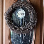 Boo Decorative Galvanized Hanging Tin DIY Tutorial pinterest image