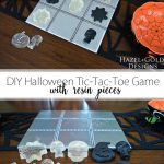 DIY Halloween Tic-Tac-Toe Game Pinterest image
