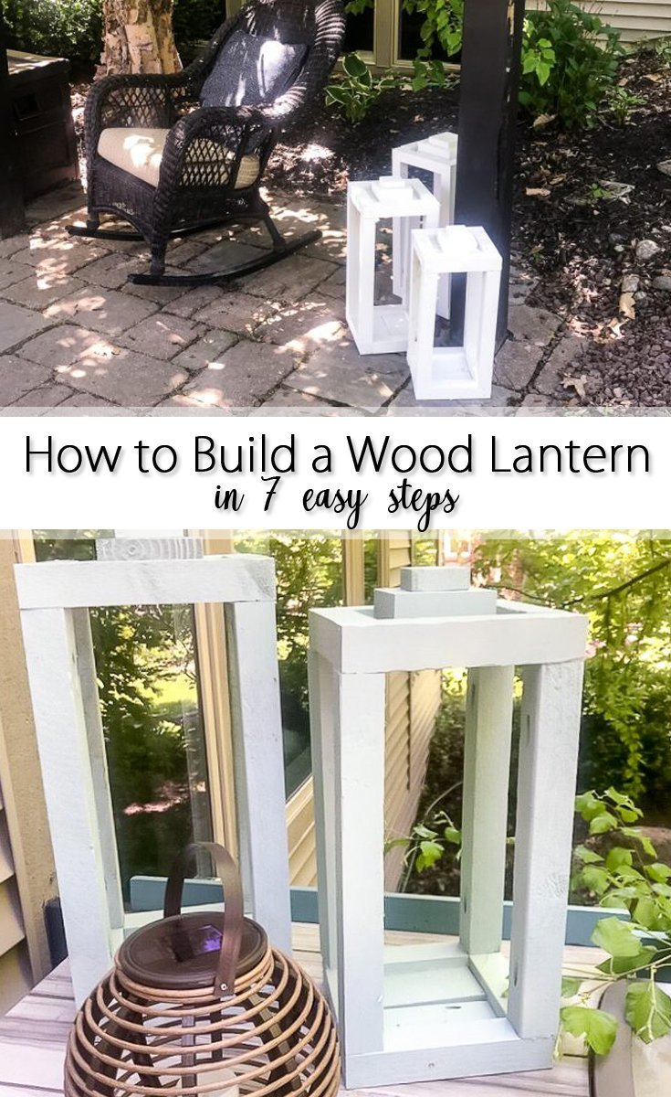 How to Build a Wooden Lantern in 7 easy steps