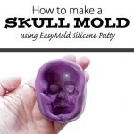 How to Make a Skull Mold using EasyMold Silicone Putty