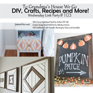 wednesday link party 103 - square featured image