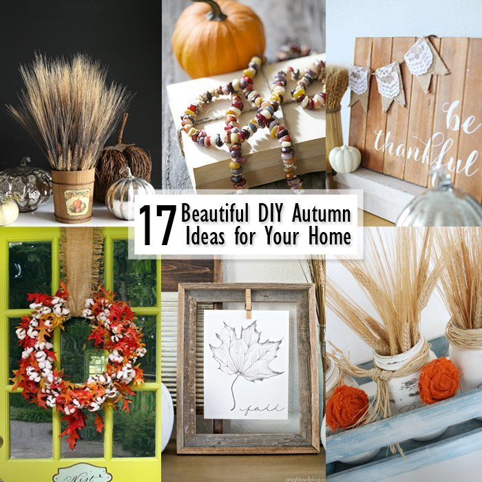 17 DIY Autumn Decor Ideas for Your Home