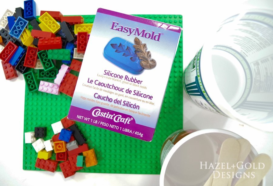 DIY Lego Mold - supplies