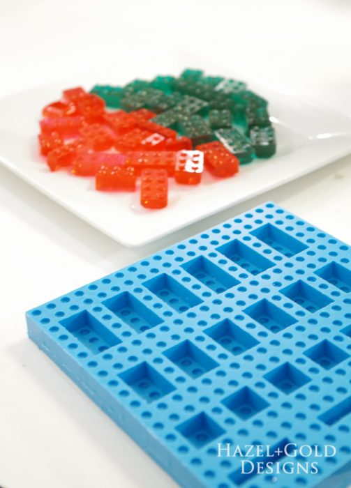 how to make a lego candy mold