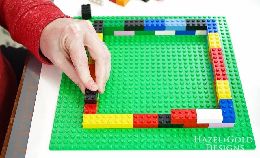 DIY Lego Mold-create second layer of outer walls
