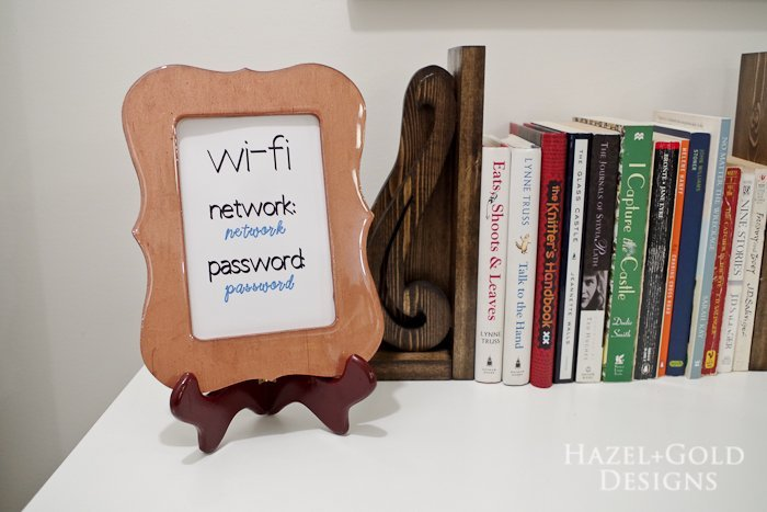 DIY Resin Coated Copper Picture Frame- horizontal finished photo