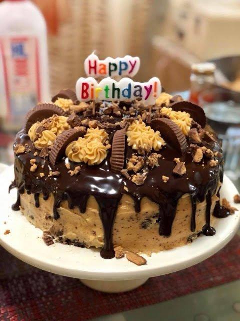 Peanut butter cake by kocina de pinay