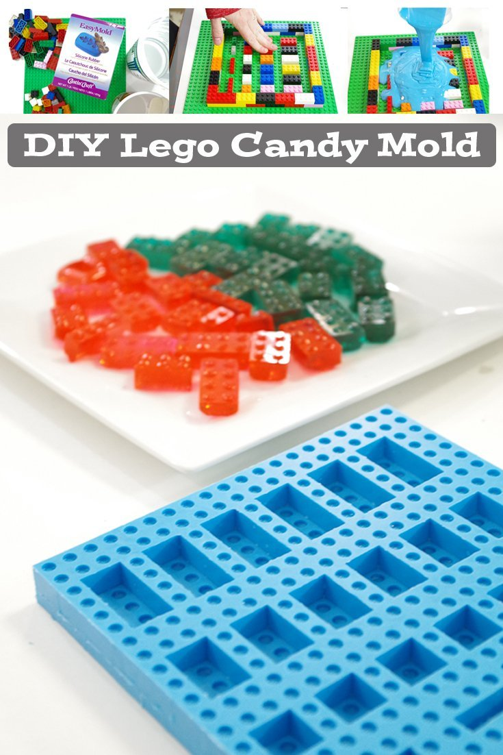 diy lego candy mold pinterest image