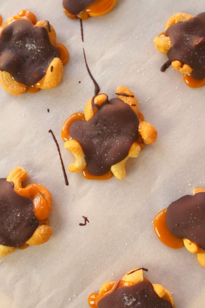 Chocolate-Caramel-Cashew-Clusters-DelightfulEMade-vert5-683x1024