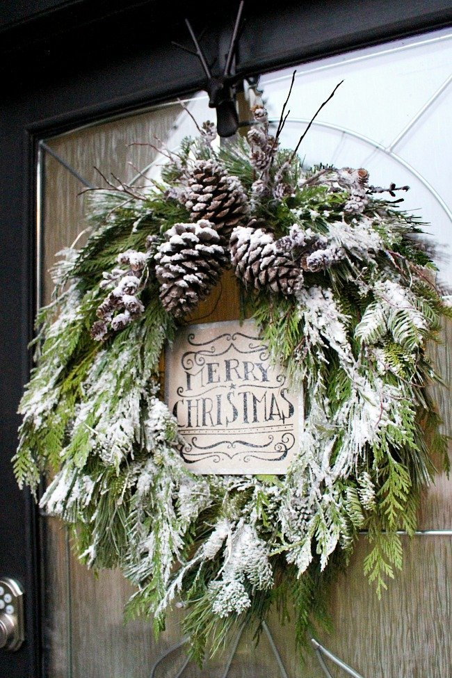 DIY-Christmas-Wreath by clean and scentsible
