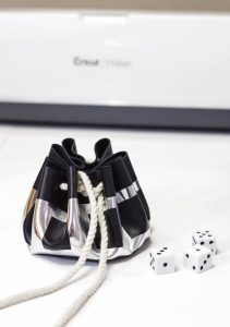 DIY Leather Dice Pouch and Cricut Maker FAQ