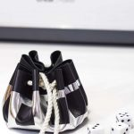 DIY Leather Dice Pouch Pinterest image