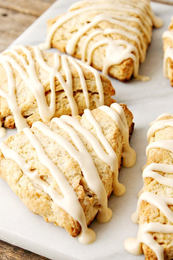 Spiced-Eggnog-Scones-Recipe- by Home Cooking Memories