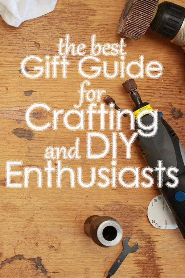pinterest image the best gift guide for crafting and diy enthusiasts