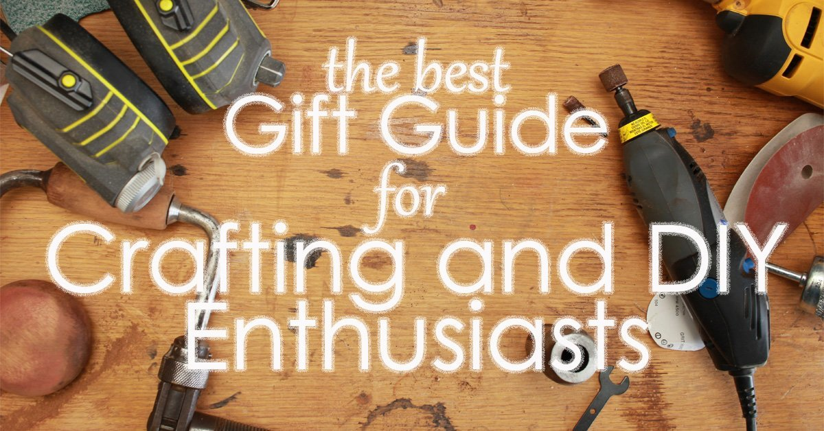 social media gift guide for crafting and diy enthusiasts