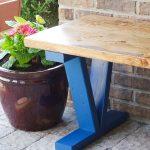 DIY Wooden Bench - outdoor bench vertical photo