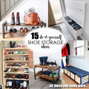 15 DIY shoe storage ideas featured image