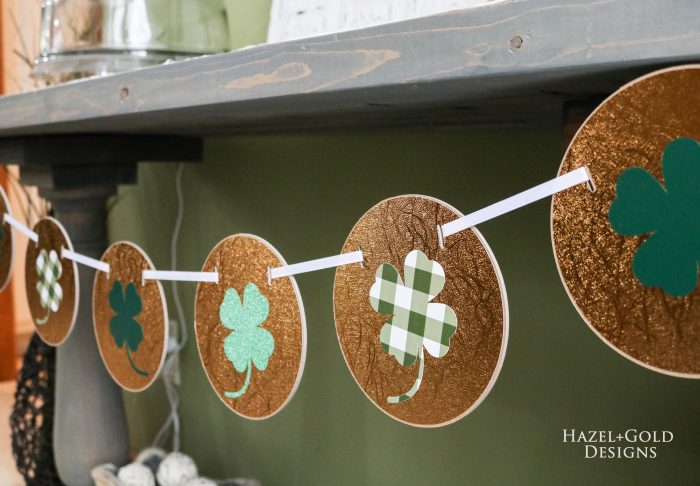 St Patricks Day Gold Coin Banner Finished photo